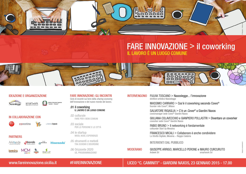 Fare Innovazione > il coworking