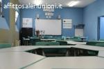 Affitto aula didattica per corsi di formazione