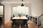 Postazioni in uffico condiviso, Spazio Coworking MM09