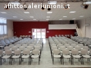 Sala riunione congressi ed eventi moderna