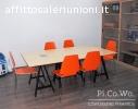 Sala riunioni Pi.Co.Wo. Coworking Roma Ostiense